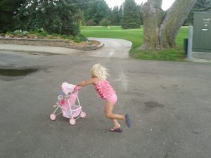 bitty baby stroller